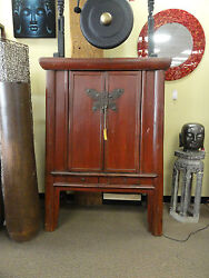 Antique Butterfly Cabinet