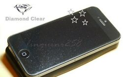 Diamond Sparkling Shimmer Glitter Clear Screen Protector Apple Iphone 5 5s Se 5c