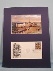 Fort Laramie As Painted By W.h. Jackson And Jim Bridger First Day Cover