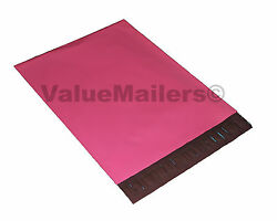 50 10x13 Pink Hot Poly Mailers Shipping Envelopes Boutique Quality PINK Bags $14.93