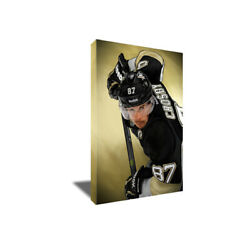 Pittsburgh Penguins Sidney Crosby Poster Photo Painting Artwork Canvas Wall Art