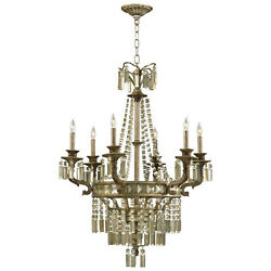 Cyan Design Six Lamp Chandelier - Wrought Iron With Resin And Glass Accents