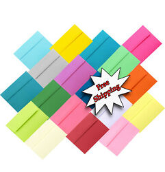 Assorted Multi Color Envelopes For Greeting Cards Invitations Announcements More