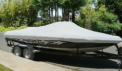 New Boat Cover Fits Sea Ray 230 Weekender Cuddy Cabin Bow Rails I/o 1985-1989