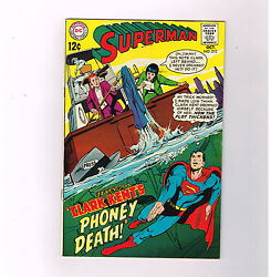 Superman V1 210 Grade 8.5 Silver Age Dc Find W/ Great Neal Adams Cover Art
