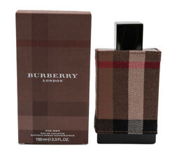 Burberry London Fabric by Burberry EDT Cologne for Men 3.3 3.4 oz New In Box $29.91