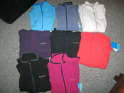 Columbia Womenand039s Summit Rush Pullover Or Zip-up Jacket100 Polyestermsrp-75.