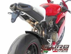 Ducati 1199 Panigale Zard Exhaust Full System Penta Carbon Caps And Tail Kit +20hp
