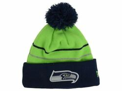 Official 2014 Seattle Seahawks New Era Thanksgiving Reflective Beanie Knit Hat