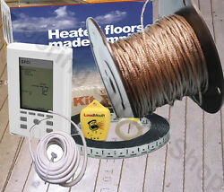 Suntouch Radiant Floor Heating Cable / Spool 240 V Made In The Usa Complete Kit