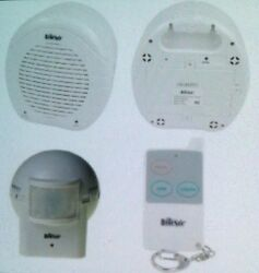 Barking Watch Dog Alarm Home Security System 1 Remote + 1 Outdoor Sensor New