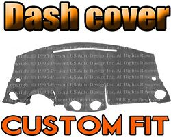 Fits 1998-2011 Volkswagen Beetle Dash Cover Dashboard Pad / Charcoal Grey