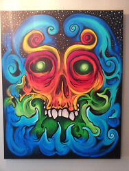 Large Original Acrylic Painting - Direct From The Artist