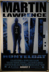 Martin Lawrence Live Runteldat Ds Rolled Adv Orig 1sh Movie Poster 2002