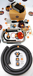Diesel Powered Motocross Mx Race Truck Heating System Heater Twin Outlet