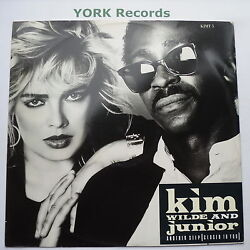 Kim Wilde And Junior - Another Step - Excellent Condition 12 Single Mca Kimt 5