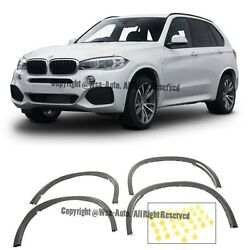 For 14-15 Bmw F15 X5 M-package Arch Extension Fender Flare Aero Diffuser W Clips