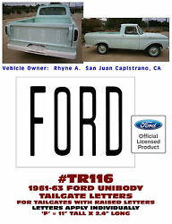 Tr116 1961-63 Ford