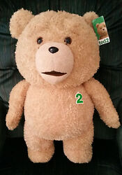 Ted 2- Ted 24 Inch R Rated Talking Plush Teddy Bear- 10.00 Discounted