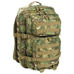 Army Patrol Rucksack Assault Backpack Combat Molle Pack Hiking 36l Arid Woodland