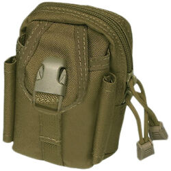 Flyye Mini Duty Waist Pack Utility Accessories Pouch Molle Cordura Coyote Brown