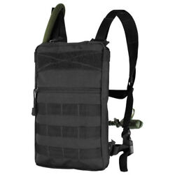 Condor Tidepool Tactical Hydration Carrier Molle Webbing Bladder Included Black
