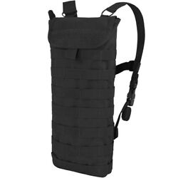 Condor Tactical Hydration Bladder Carrier Water Pack Molle Airsoft Hiking Black