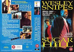 Sugar Hill Wesley Snipes Video Promo Sample Sleeve/cover 14890