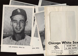 1962/1964 Chicago White Sox Picture Pack Set 12 Exmt