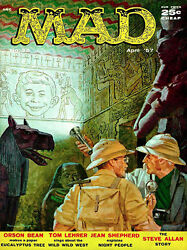 Mad Magazine 32 - April 1957 - Cover Poster