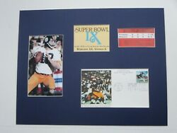 Pittsburgh Steelers Led By Terry Bradshaw Win Super Bowl Ix And First Day Cover