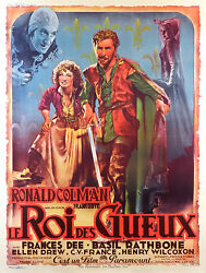 If I Were A King - Original French Poster - Very Rare
