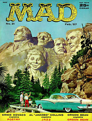 Mad Magazine 31 - February 1957 - Cover Poster