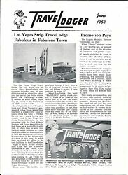 Lot Of 1950s Travel Lodge Paper Products And Collectibles California And Baja