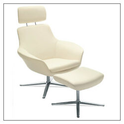 Coalesse Bob Lounge Swivel Chair In Multiple Fabrics Colors By Steelcase