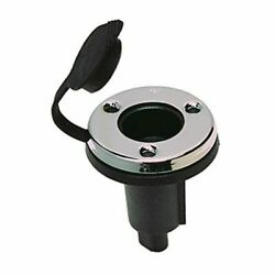 Perko 1045p00dp Chrome Base 2 Contact Plug-in Type Pole Navigation Light Boat Md