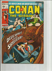 Conan The Barbarian 6 Bronze Age Grade 8.0 1st Appearance Of Fanfir And Blackrat