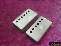 Gibson Paf Pickup Cover Pair - Humbucker Vos - Custom Aged And Relicand039d Patent