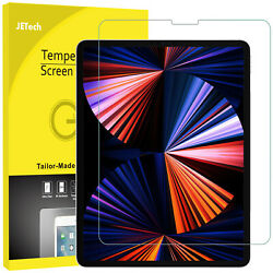 Jetech Screen Protector For Ipad Pro 12.9 2021/2020/2018 Tempered Glass Film