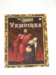 The Complete Guide To Vampiresdungeons And Dragons Goodman Games D20 Brand New