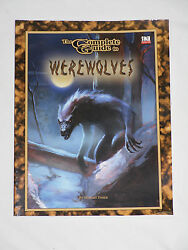 The Complete Guide To Werewolves Dungeons And Dragons Goodman Games D20 New