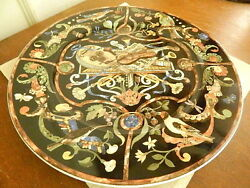 Villeroy And Boch Germany Intarsia Chop Plate Round Serving Platter 12 1/8- Nice