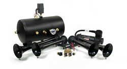 Hornblasters Conductorand039s Special 544k Nightmare Edition Loud Train Air Horn Kit