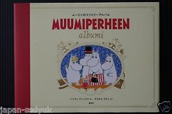 Japan Picture Book Moomin No Family Album