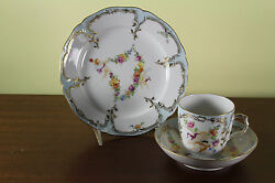 Limited Edition 1/30 Dessert Plate Coffee Cup And Saucer Puttis After Boucher