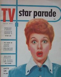 Lucille Ball - Tv Star Parade Magazine - July 1953