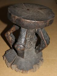 Congo Old African Stool Chaise Ancien Pende Africa Afrika Dand039afrique Stoel Kongo