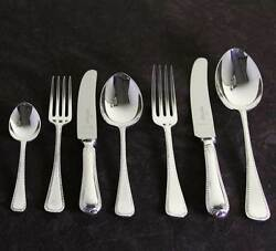 Cutlery Complete European Set For 12 Including Fish Eaters And Serving Pieces F.e