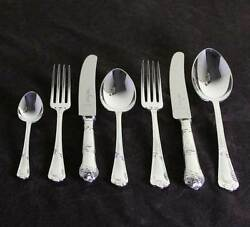 Cutlery Complete European Set For 12 Including Fish Eaters And Serving Pieces L-r