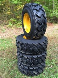 4-12-16.5 Ultra Guard Mx Skid Steer Tires/wheels/rims For New Holland-14 Ply-usa